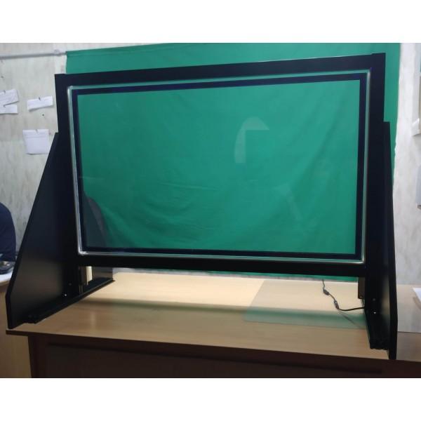 Прозрачная маркерная доска с подсветкой 100х56 см