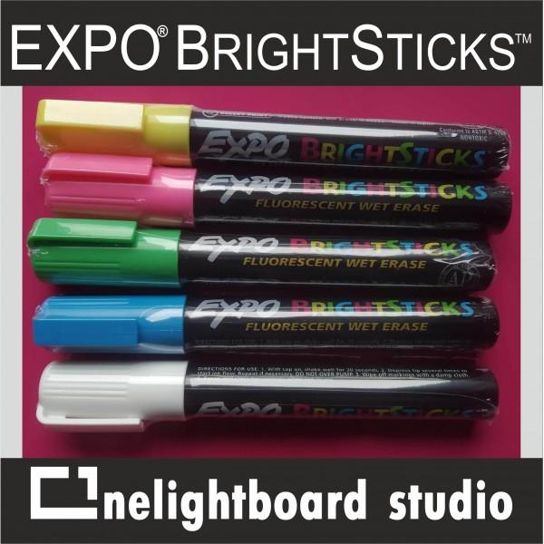 Маркеры Expo Bright Sticks купить с доставкой